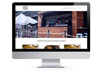 diseño web Terraza/restaurante LaPuerta.net