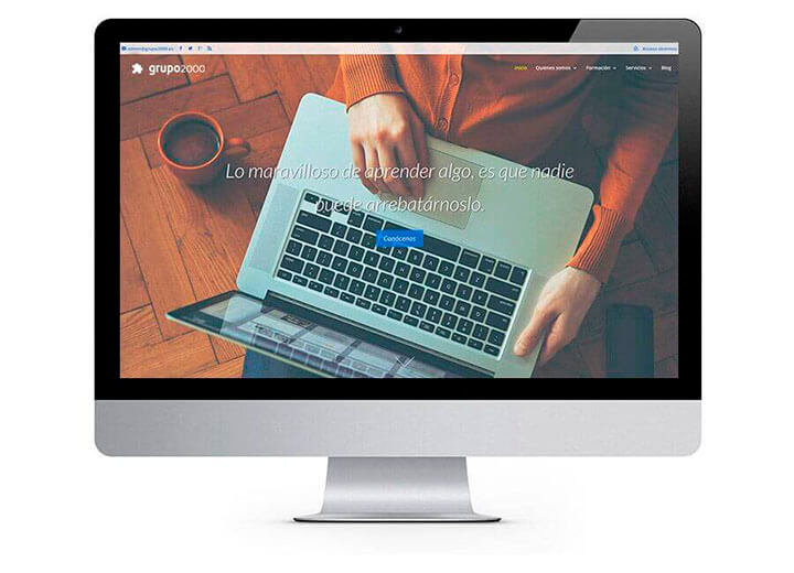 Web Corporativa Grupo2000
